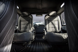 LAND ROVER DEFENDER - CTC LEATHER INTERIOR INC GTB CROSS STITCHING SPORTS SEATS