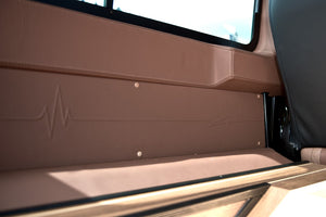 LAND ROVER DEFENDER 90 - CTC LEATHER SIDE PANELS
