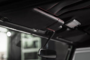 LAND ROVER DEFENDER - CTC SUNVISORS IN LEATHER