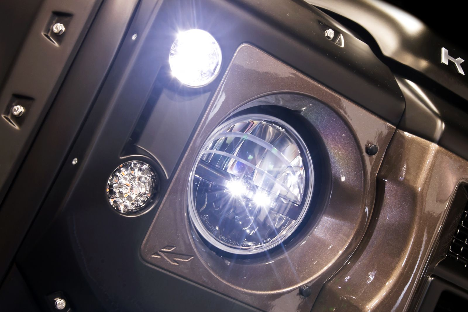 LAND ROVER DEFENDER - CTC ALL ROUND DIAMOND LED LIGHT KIT