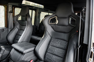 LAND ROVER DEFENDER - CTC LEATHER INTERIOR INC GTB SPORTS SEATS