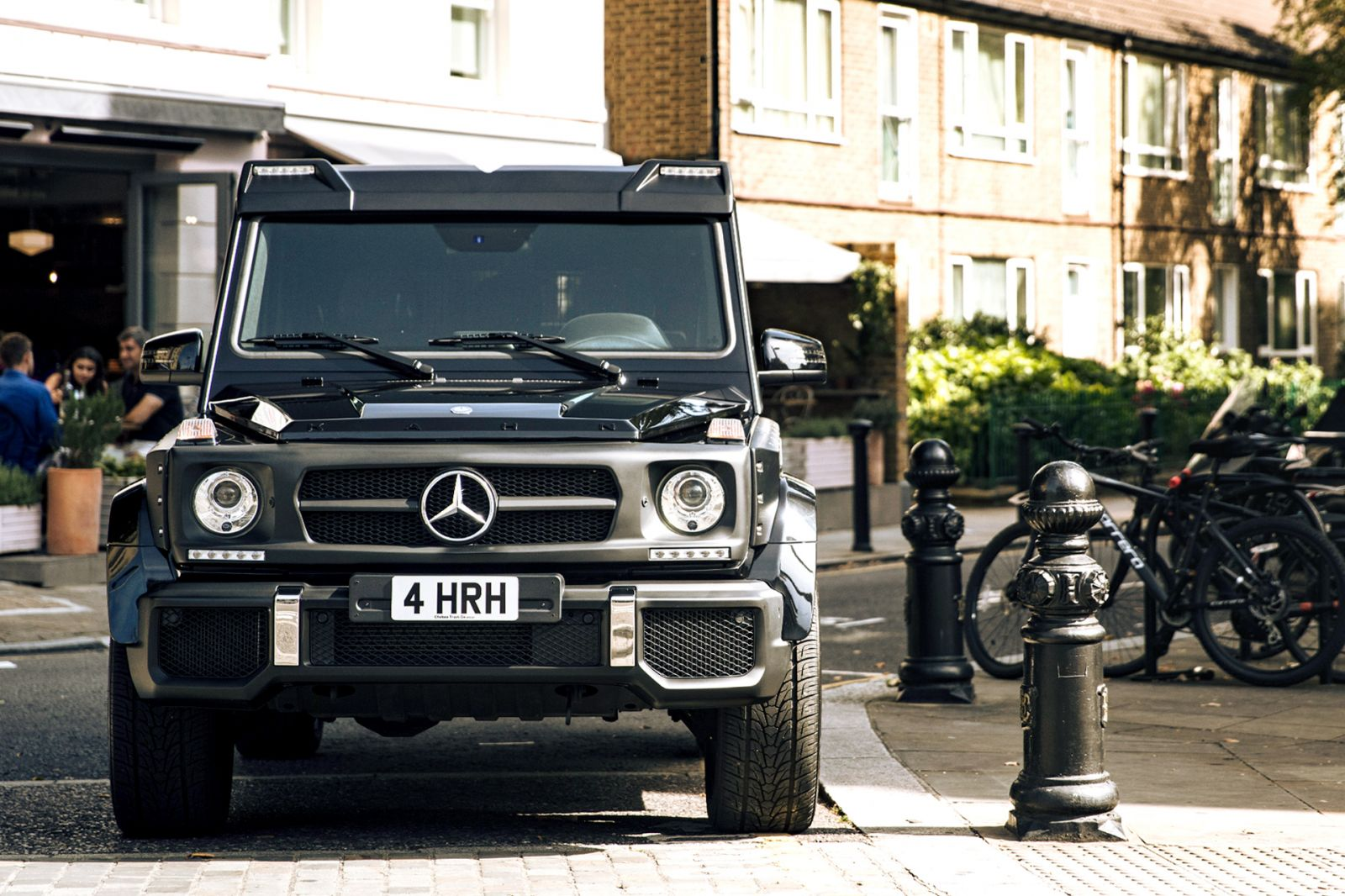 MERCEDES G CLASS / G63 AMG CTC - FRONT ROOF SHIELD