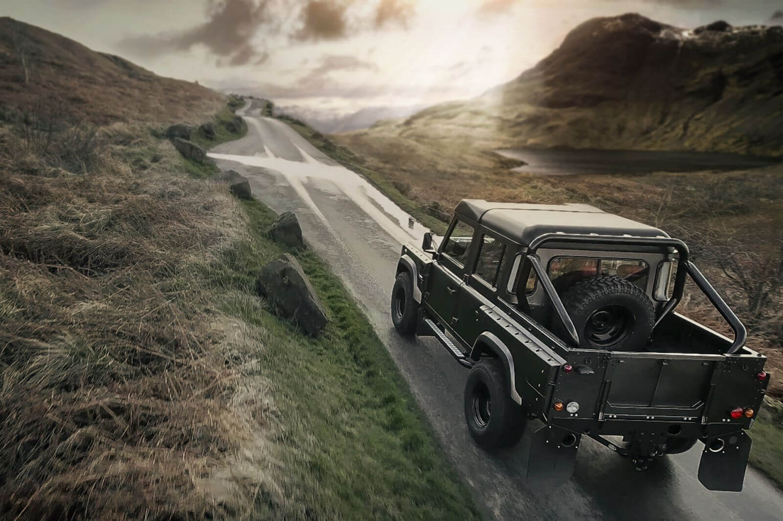 LAND ROVER DEFENDER - CTC ROLL BARS