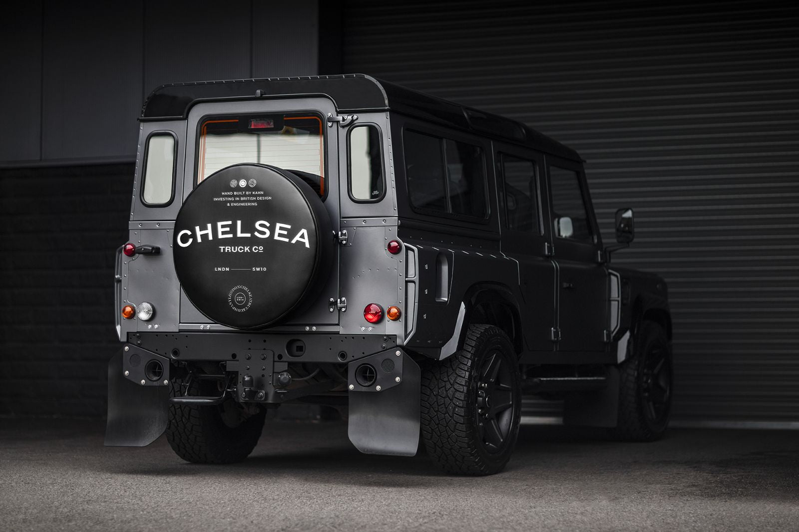 LAND ROVER DEFENDER - CTC WHEEL COVER