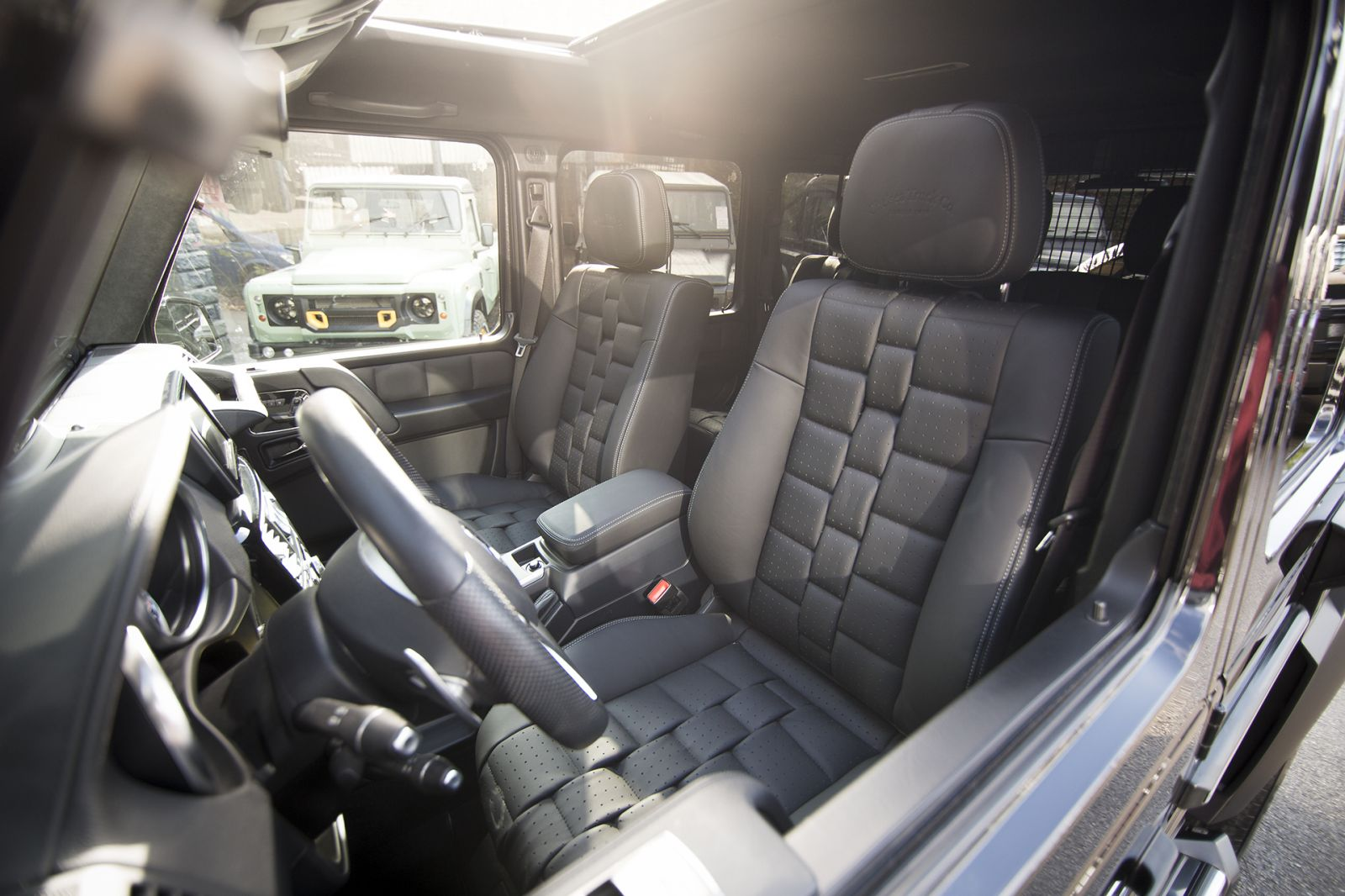 MERCEDES G CLASS / G63 AMG CTC - LEATHER INTERIOR