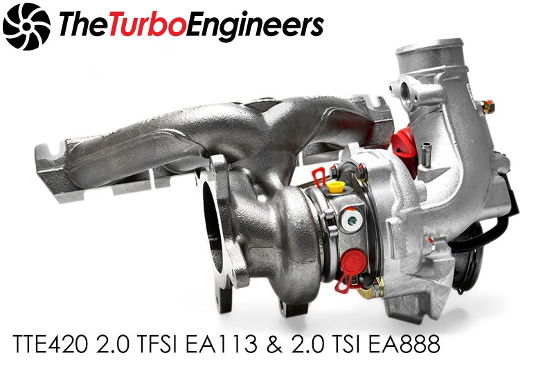 The Turbo Engineers - TTE420 Hybrid KO4 Turbocharger 2.0 TFSI