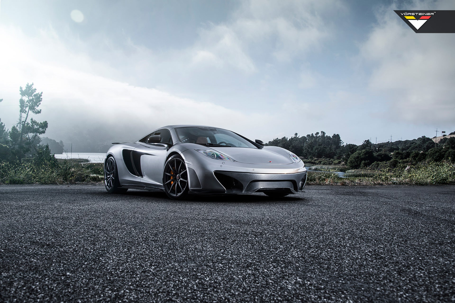 MCLAREN MP4-12c VORSTEINER SIDE BLADES