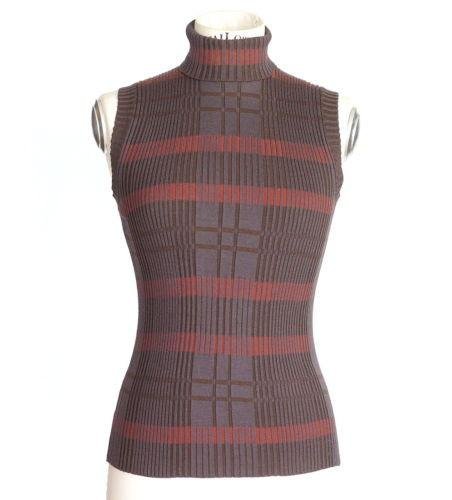 Hermes Top Rich Knit Muted Colors S / M - mightychic