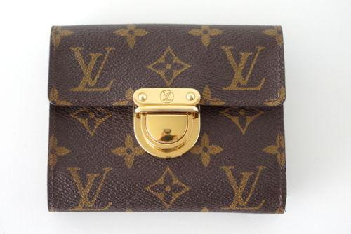 LOUIS VUITTON Wallet Portefeuille Koala Monogram canvas Trifold
