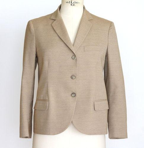 Chloe Jacket Easy Sleek Cut Warm Nude  42 / Fits 6 to 8
