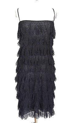 Dolce&Gabbana Dress Flapper Style Fabulous Details 42 / 8