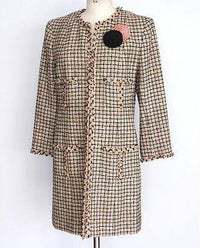 Chanel 03P Jacket / Coat  Fantasy Tweed 46 fits 10 to 12 - mightychic