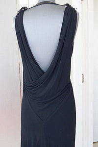 Jean Paul Gaultier Dress Backless Patent Leather Detail 44 / 8 - mightychic