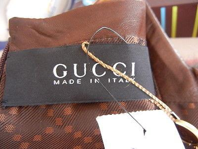Gucci Dress $4000 Runway Copper Leather Fur Yoke 42 / 6 nwt - mightychic