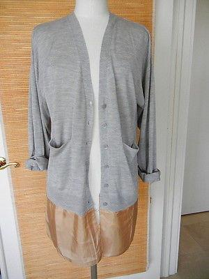 MALENE BIRGER Cardigan unique detls wearable S