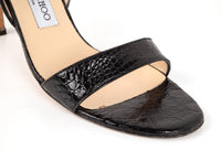 Jimmy Choo Shoe Black Crocodile Slingback 39 / 9 - mightychic