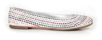 Giuseppe Zanotti Shoe Ballet Flat w/ Colourful Diamantes 39 / 9 - mightychic