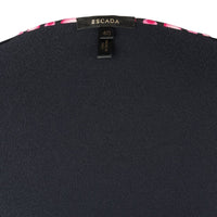 Escada Twinset Black Trimmed Pretty Pink Light 40 / 6