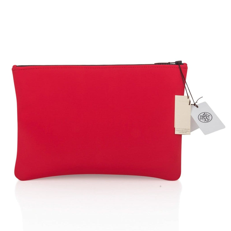 Hermes Neobain Case Rouge Casaque Large Model