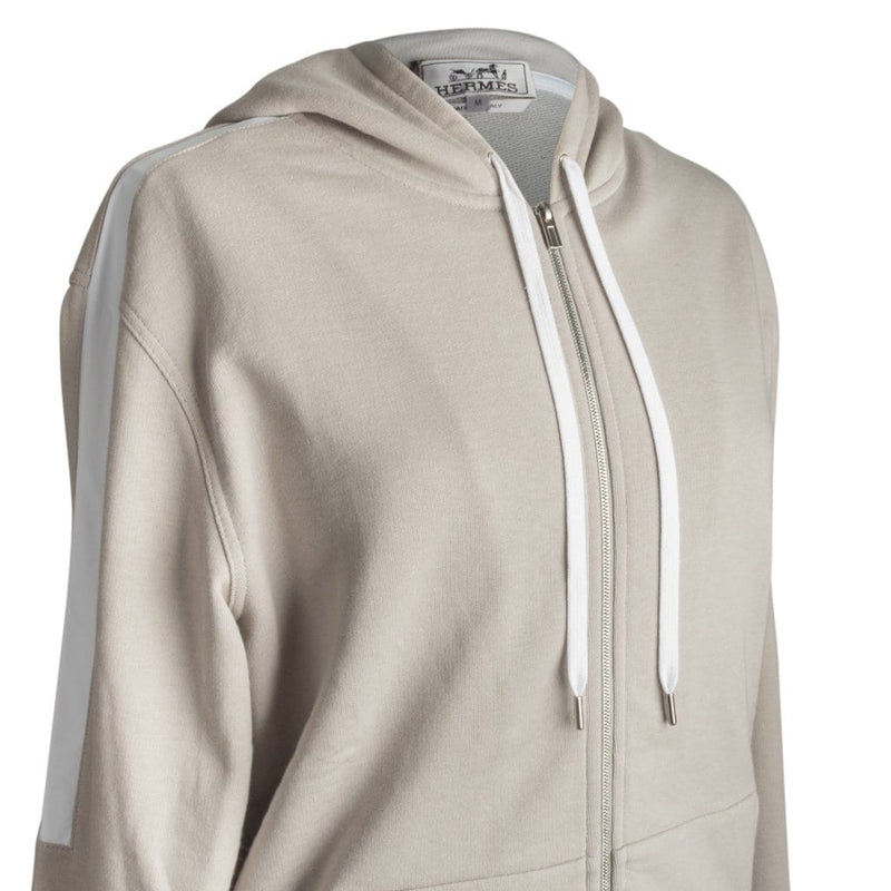 Hermes Men's Hooded Zipped Sweater Jogging Hoodie M