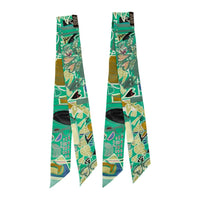 Hermes Twilly Rare Modernisme Tropical Green Filipe Jardim Set of 2