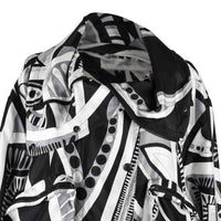 Emilio Pucci Jacket Silk Windbreaker Rear Zipper Front Snaps Drawstring 12 - mightychic