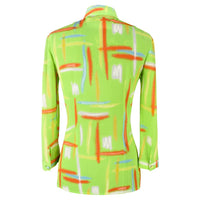 Gianni Versace Top Vintage 3/4 Sleeve - mightychic