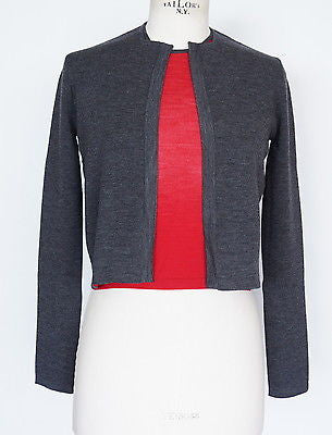 Twinset charcoal red fabulous and versatile 38 / 4
