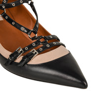 Valentino Shoe Bi Colour Caged Ankle Strap Pump 39 / 9 - mightychic