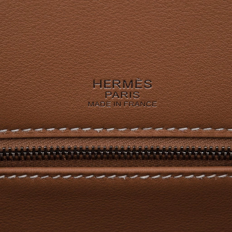 Hermes Shadow Birkin 35 Bag Limited Edition Gold Evercalf Leather New