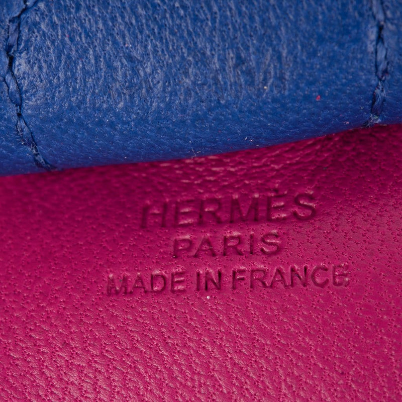Hermes Rodeo PM Bag Charm Rose Pourpre / Electric Blue / Malachite New w/ Box