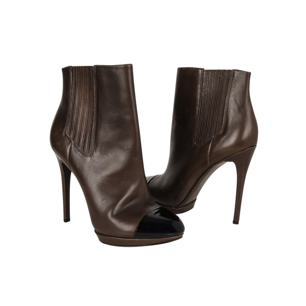94ef7b19f00 brian-atwood-ankle-boots-brown-black-patent-toe-cap-high-heels -shop-online-mightychic.com.jpg?v=1543041390