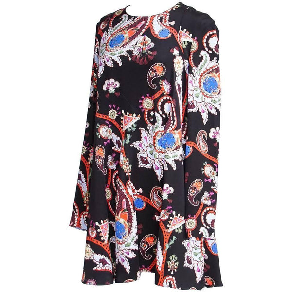 Mary Katrantzou Dress Vivid Print Swing  UK 12 / 8