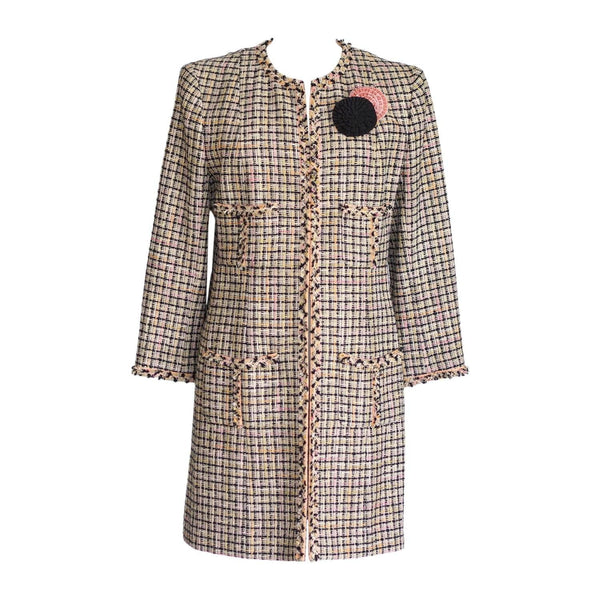 Chanel 03P Jacket / Coat  Fantasy Tweed 46 fits 10 to 12