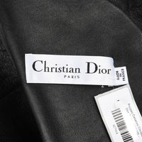 Christian Dior Coat Black Persian Lamb Shearling Reversible 6 - mightychic