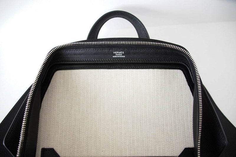 Hermes Briefcase Cityback Men's Backpack Epsom Souple Supple - mightychic
