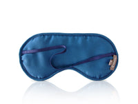 Hermes Sleep Eye Mask Multi Color Silk Petite h Vibrant Feathers - mightychic