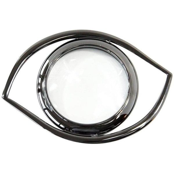 Hermes Ruthenium Magnifying Glass / Paperweight Eye of Cleopatra - mightychic
