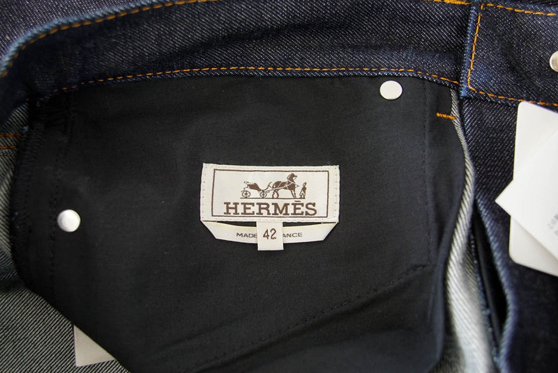 Hermes Men's Classic Jean Clou de Selle Buttons 42 Nwt - mightychic