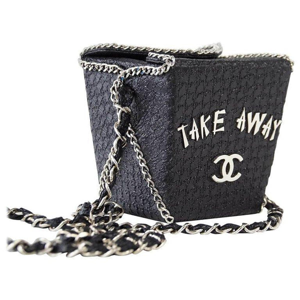 Chanel Take Away Box Bag Rare Limited Edition Runway Shanghai Collection