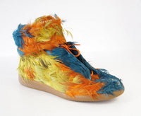 Maison Martin Margiela Men's Future Duck Feather High Top Sneaker  43/10 - mightychic