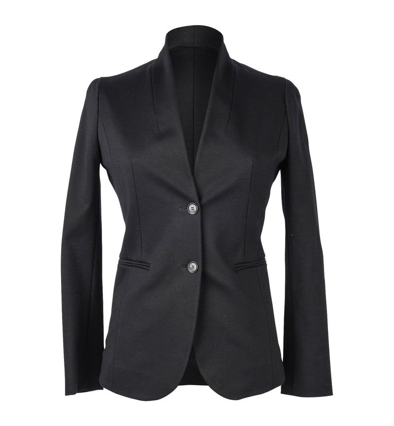 Gucci Jacket Modern Sleek Black Single Breast 38 / 6
