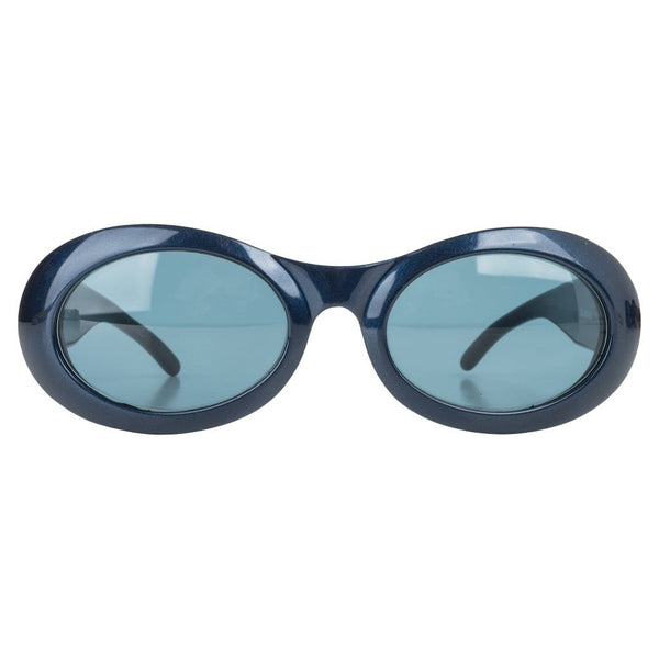 Gucci Sunglasses Pretty Ocean Blue Oval Shape