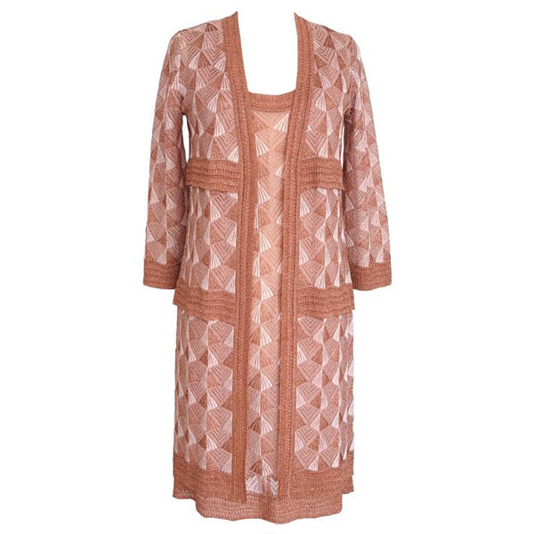 Missoni Dress Set Striking Deco Design Chic Colours 42 / 8 - mightychic