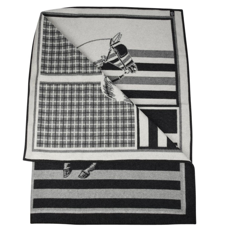 Hermes Blanket Couvertures Nouvelles Plaid Silex Limited Edition New - mightychic