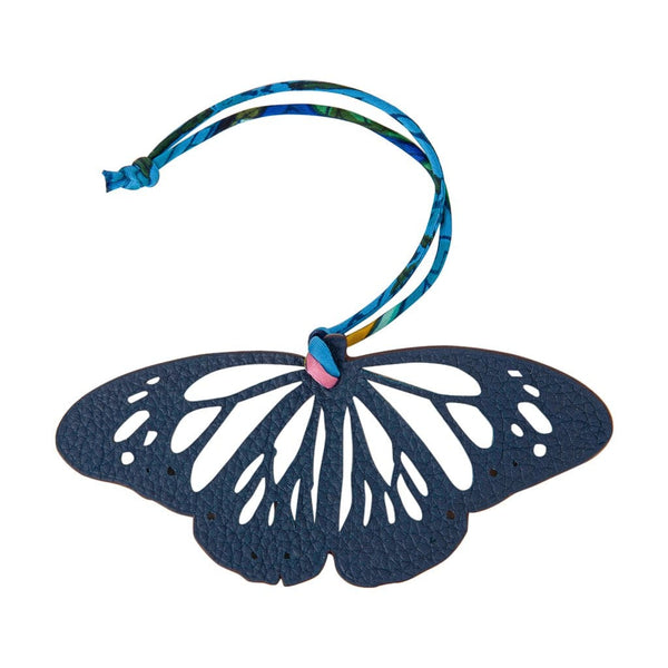 Hermes Bag Charm Bi-Color Butterfly New w/ Box