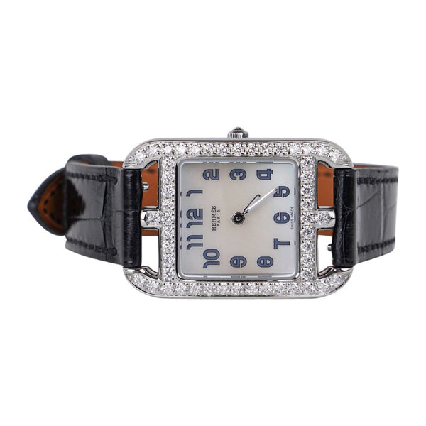 Hermes Cape Cod Timepiece Diamond Watch New w/Box
