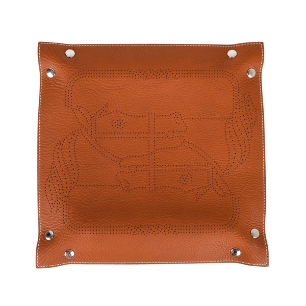 Hermes Change Tray Mises Et Relances Quadrige Perforated Pattern New