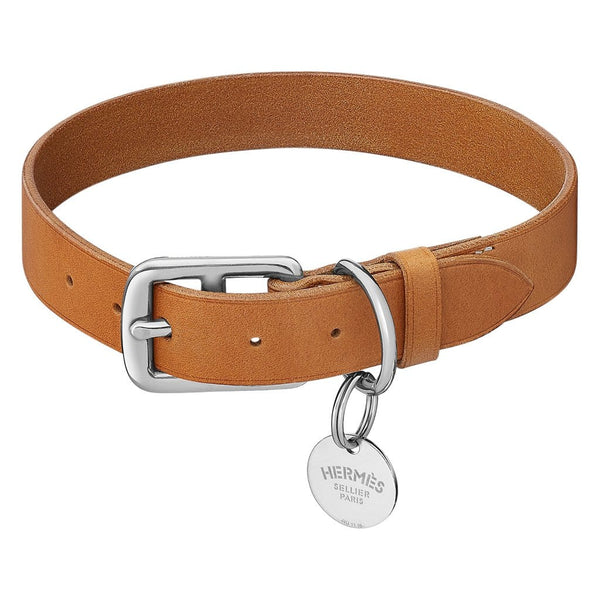 Hermes Etriviere Dog Collar Medium Model New