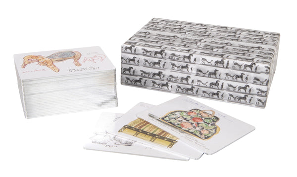 Hermes Cards La Collection Emile Hermes Memory Game - mightychic